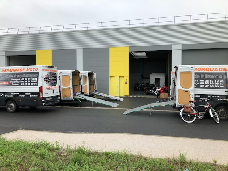 Stockage moto Ile de France